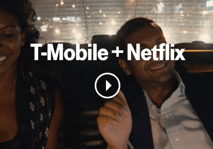 netflix tmobile one