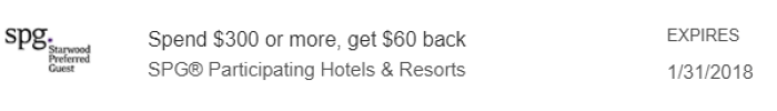 spg amex offer