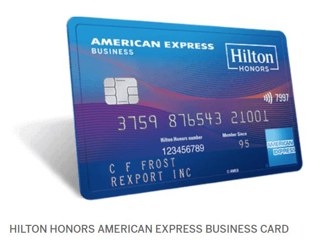 Hilton Honors American Express Business Card, 125K Points Bonus Plus $50 Credit