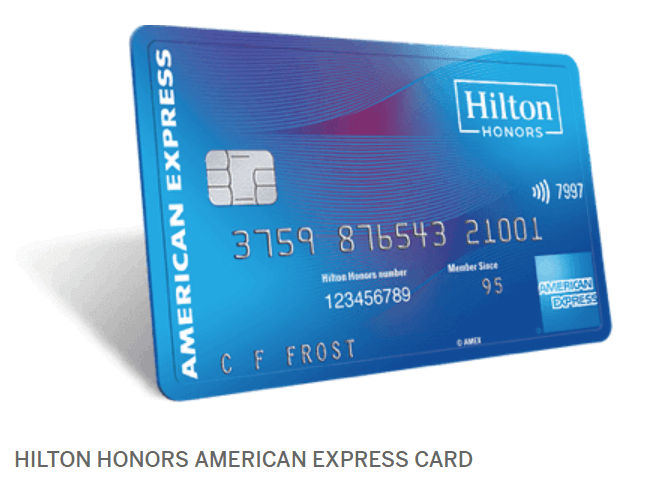 amex hilton points amazon