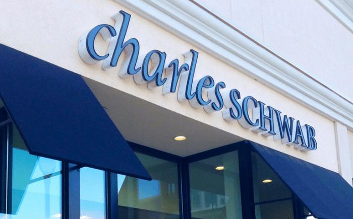 Charles Schwab partial stocks