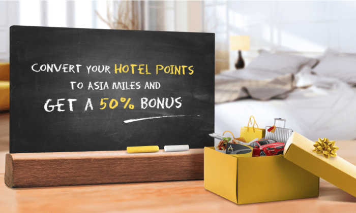 Convert Hotel Points To Asia Miles