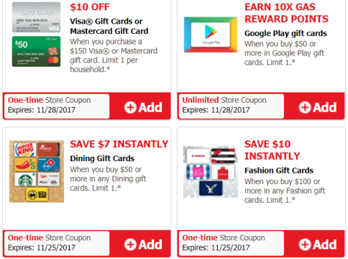 just4u gift card deals