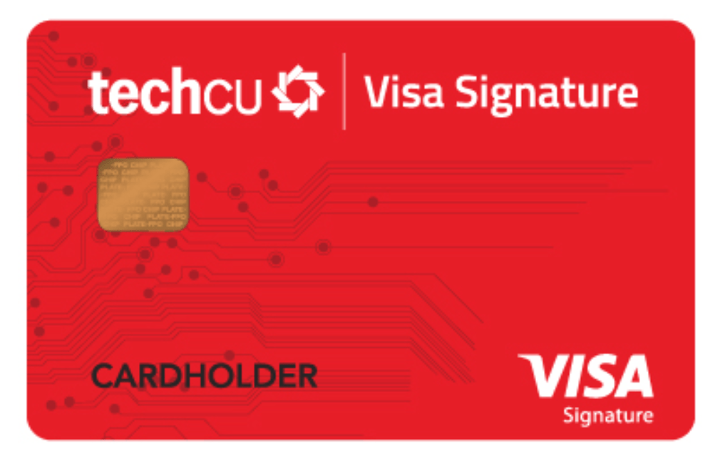 Tech CU Visa Signature Card, $500 Bonus With $5K Spend in 4 Months