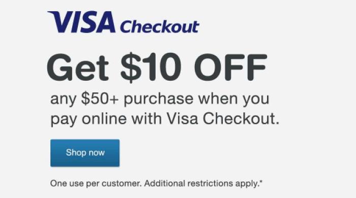 Walgreens Visa Checkout Promo