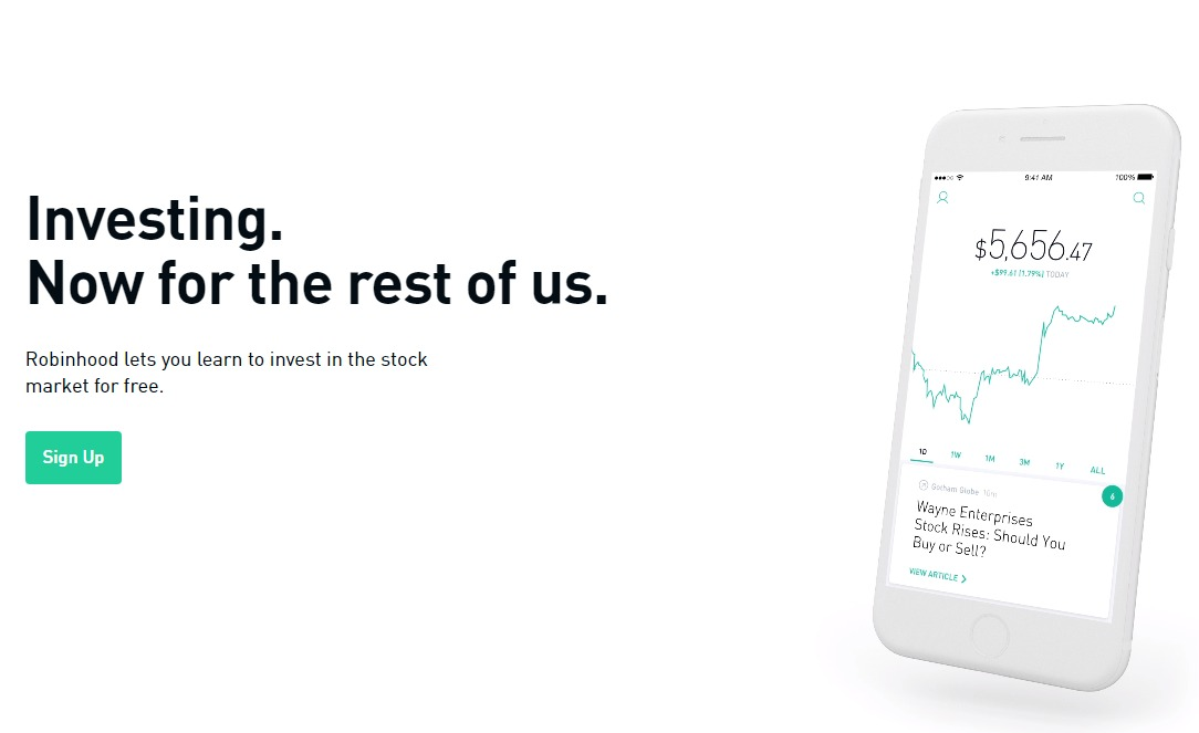 Free Stock Trading App Robinhood Adds Web Platform & Options Trading
