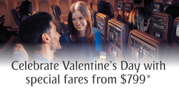 Emirates companion fare sale
