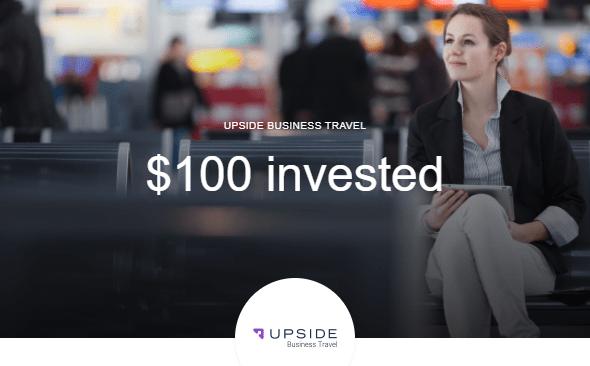 upside travel discount