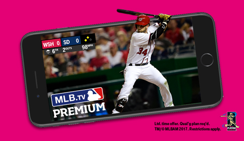 FREE Year of MLB.TV Premium for T-Mobile Customers on 3/26/2019