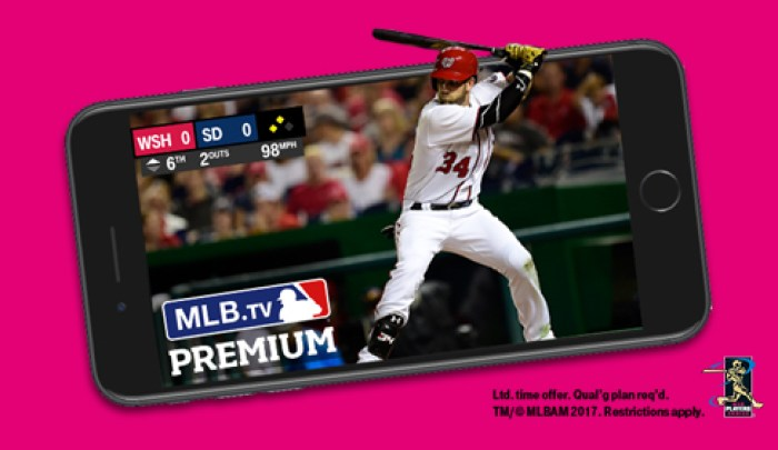 tmobile free mlb tv