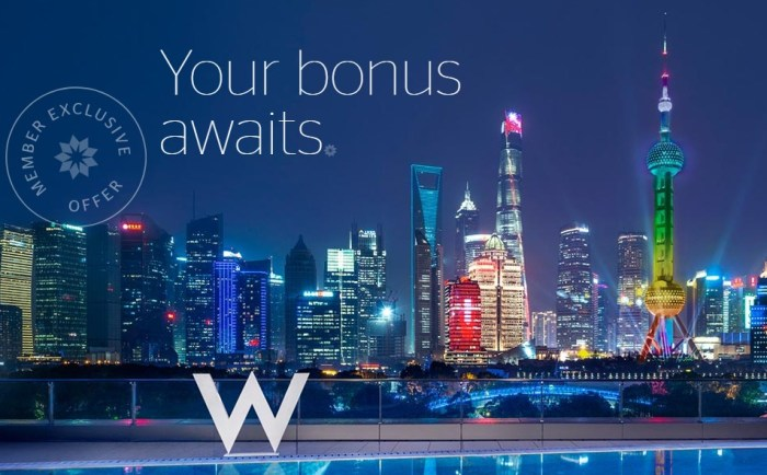 Earn Extra SPG Points