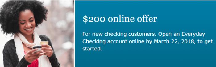Wells Fargo $200 Bonus