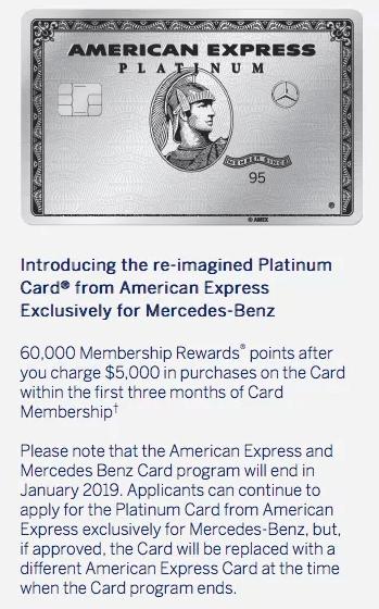 American Express Mercedes Benz