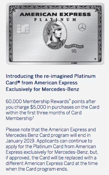 American Express Mercedes Benz
