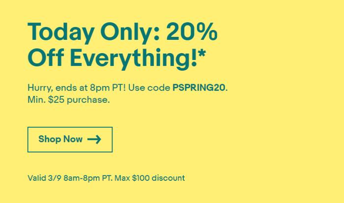 eBay Sitewide Discount