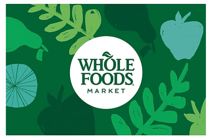 discounted Whole Foods Market gift cards