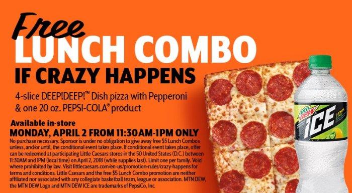 Free Little Caesars Pizza