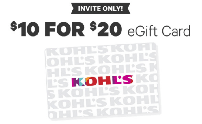 Kohl's eGift Card