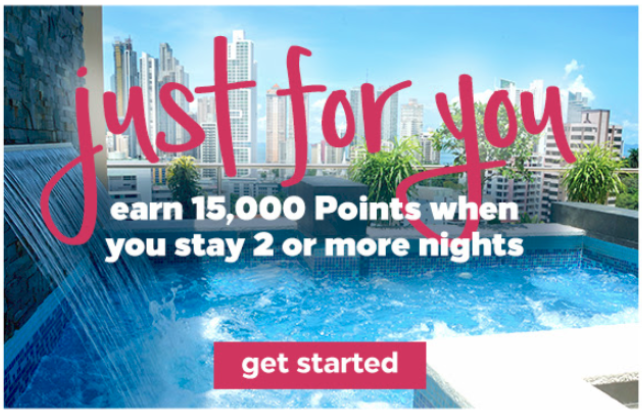 Hilton Promo, Get 15K Bonus Points with 2 Night Stay (Targeted)