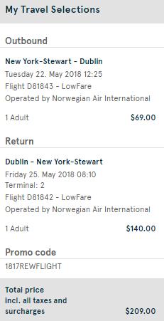 cheap dublin tickets