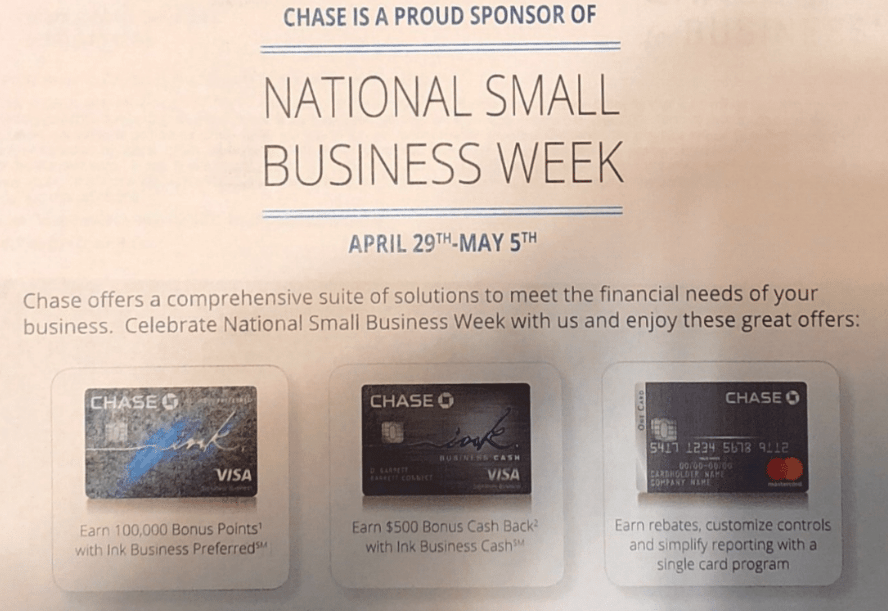 Chase Ink Business Preferred, 100K Bonus Coming 4/29