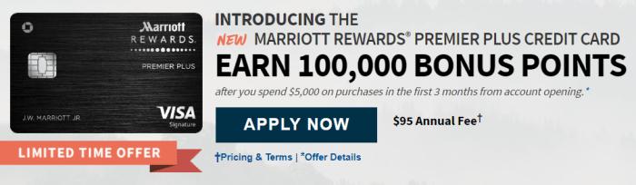 ChaseMarriott Rewards Premier Plus Credit Card