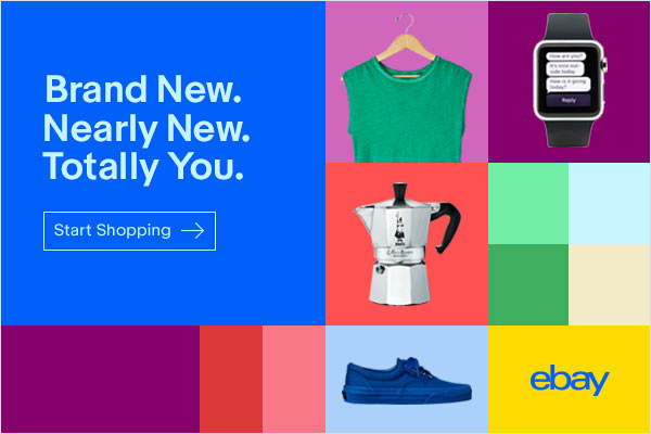 eBay Bucks Offer, 8% Back on All Purchases Till 8/18 (Targeted)