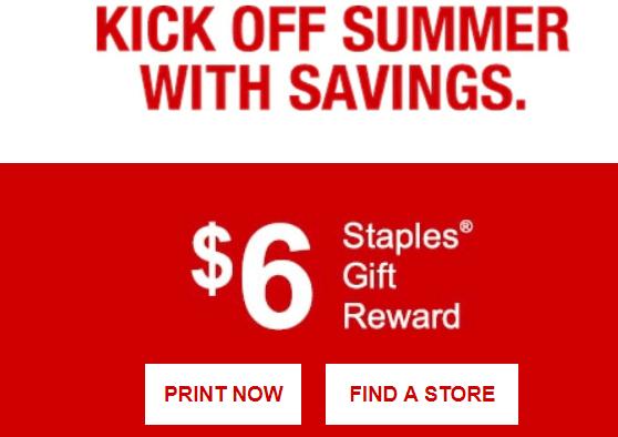 free staples rewards