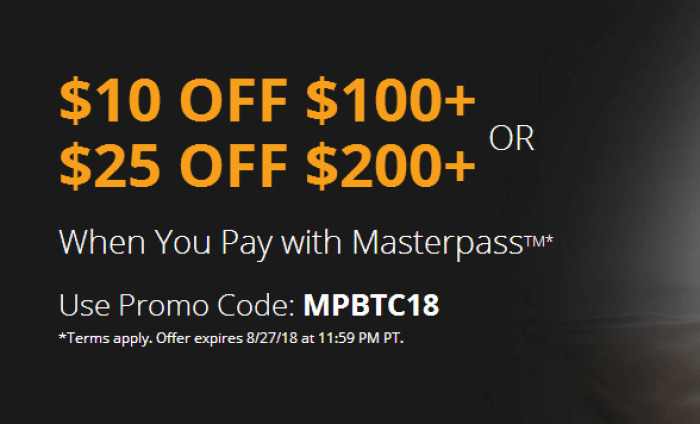 newegg masterpass promo