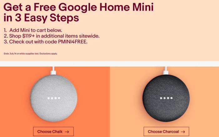 ebay google home mini