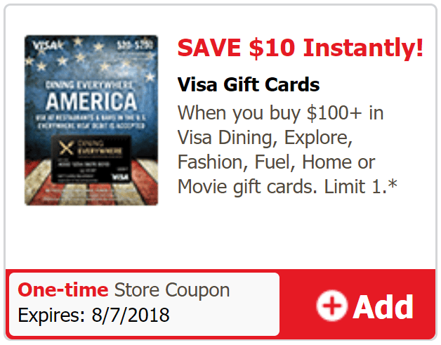 just4u visa gift card deal