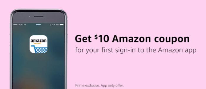 amazon app 10 discount