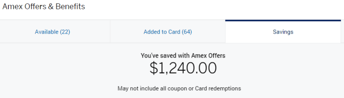 amex offers limited