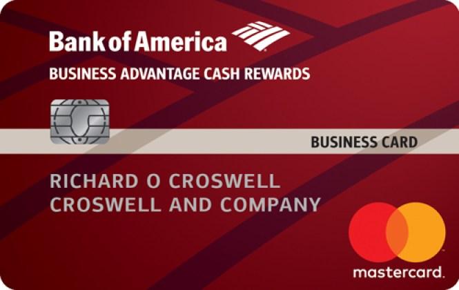 Bank of AmericaBusiness Advantage Cash Rewards Mastercard
