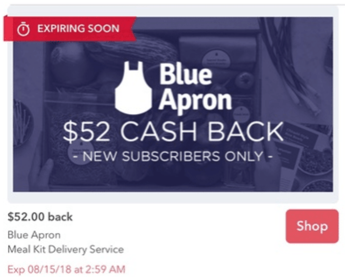 Sign Up for Blue Apron Through Ibotta, $27 Moneymaker