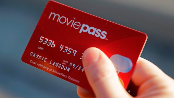 MoviePass Subscribers Are Now Watching Less Than a Movie per Month
