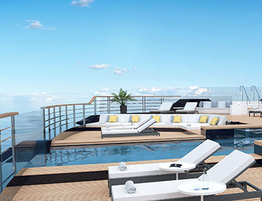 Pool (source: Ritz-Carlton Yacht Collection)