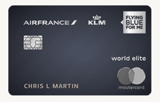 Bank of America Air France KLM Card