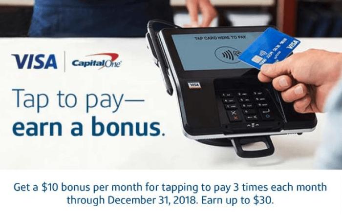 capital one 30 bonus