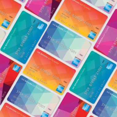 simon mall free amex cards