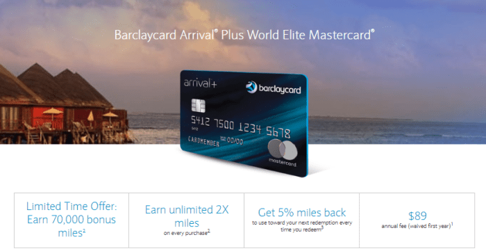 Barclaycard Arrival Plus review