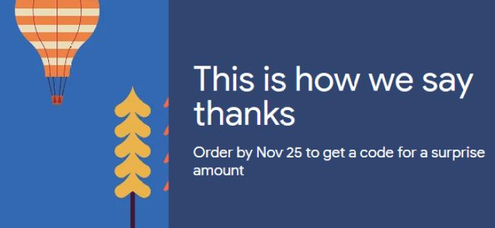 Google Express holiday giveaway