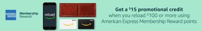 Amazon Balance with Amex