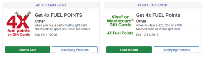 kroger gift card deal