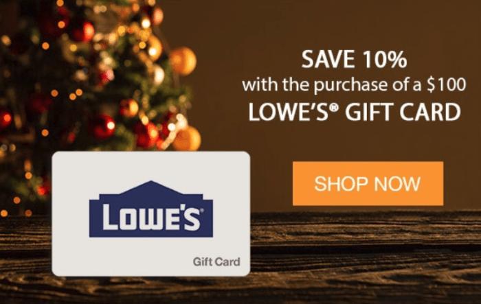 giftcardmall lowe's