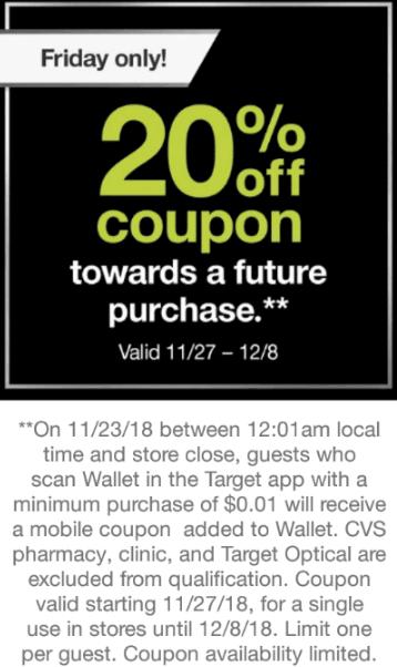 target app 20 coupon