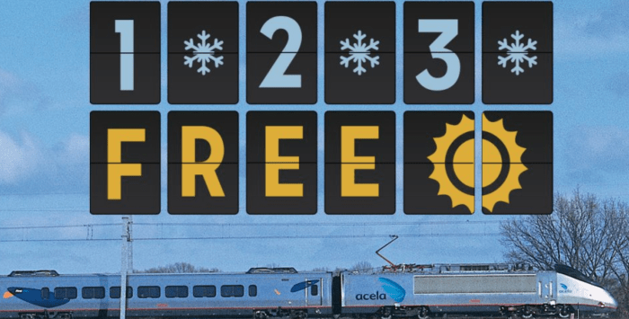 amtrak free trip promotion