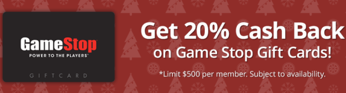 mygiftcardsplus game stop 20 off