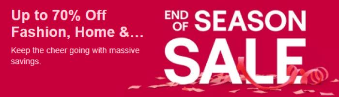 Ebay End of Season Sale