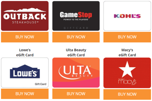 giftcardmall gift card sale